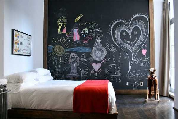 Fun Chalkboard Paint